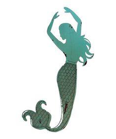 Look what I found on #zulily! Metal Mermaid #2 Wall Art #zulilyfinds