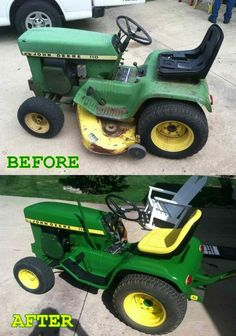 My restoration of a John Deere 110 for the Buckley Old Engine Show. Complete tear down and restoration done all by hand.