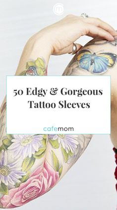 Inspired to get a tattoo sleeve? Check out these 50 badass but super gorgeous ta. - Inspired to get a tattoo sleeve? Check out these 50 badass but super gorgeous tattoo sleeves. Mini Tattoos, Body Art Tattoos, Sleeve Tattoos, Cool Tattoos, Tatoos, Awesome Tattoos, Tattoo Sleeves Women, Interesting Tattoos, Delicate Tattoo
