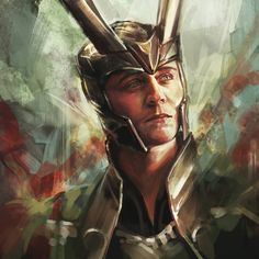 The Prince of Asgard Art Print by Alice Zhang