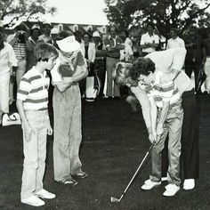 Jack Nicklaus growing the game through Junior Golf. Via 1980 PGA of America archives.