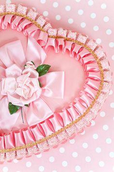 pretty pink vintage candy box # pretty pink