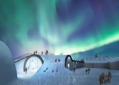 Icehotel has announced plans to build a permanent hotel alongside its seasonal frozen lodgings in Jukkasjärvi, Sweden.