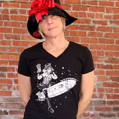"My ""Pinup Steampunk Girl"" shirts are ONLY $10 this week! Buy now at http://etsy.me/1Ml7hD1#steampunk #pinup #tshirt #smallbizsaturday  Serious blowout sale! I'm putting ALL of my Adult tees and clearance items 50% off! And my Gig Posters infant/youth clothing and Hoodies 25% off.  Perfect gifts for all your needs. And you're supporting a small business illustrator and designer. And I'm an excellent dude. Promise.  November 25th (Black Friday) through midnight on December 1st.  Black Friday…"