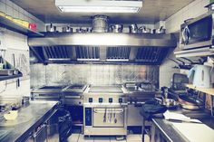 We offer commercial kitchen exhaust vent hood cleaning, restaurant equipment, oven cleaning, exhaust fan hinge kit installation & exhaust system cleaning services in Houston, TX. Restaurant Deals, Restaurant Equipment, Restaurant Kitchen, Restaurant Photos, Food Service Worker, Kitchen Exhaust, Atlanta Restaurants, Vent Hood, Exhaust Hood
