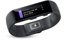 Microsoft Band -  the first device powered by Microsoft Health, helps you achieve your wellness goals by tracking your heart rate, steps, calorie burn, and sleep quality. It also helps you be more productive with email previews and calendar alerts - right on your wrist.