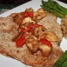 Pecan-Crusted Trout with Roasted Artichoke Sauce - ManTestedRecipes.com