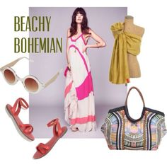 Love this look for easy, chic, summertime Babywearing: pair a Sakura Bloom Simple Silk sling in Amber with a maxi dress from Free People, Madewell sandals, Topshop sunnies and a gorgeous Mara Hoffman bag.