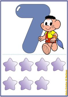 Smurfs, Leo, Kindergarten, Illustration Art, Education, Fictional Characters, Pints, Abc Centers, Number Posters