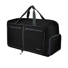 7683111d1fc Travel Duffel Bag, Duffle Bag, Modase 80L Large Foldable Travel Duffle Bag  with Shoulder