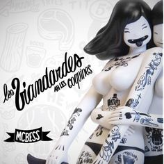 Kidrobot just announced their McBess Capsule Collection featuring brand-new apparel including a bomber jacket, caps, several tees including . 3d Character, Character Design, Mc Bess, Vinyl Toys, Doll Toys, Illustration, Sculpting, Bomber Jacket, Clay