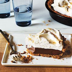 Mexican Chocolate Cream Pie - 100 Delicious Recipes for Chocolate Desserts - Cooking Light
