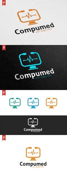 Computer Medical Logo. Logo Templates. $29.00