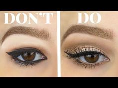 Winged Liner for Hooded Eyes Made Easy | MicaelaKBeauty - YouTube