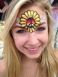7 Best Hippie Face Paint Ideas Face Painting Festival Face Festival Makeup