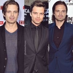 Seb throughout the years #sebastianstan I like all of the above