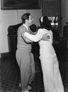 Walt Disney and Lillian Disney dancing in Brazil, 1941 | por Tom Simpson