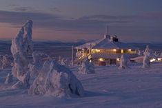 Tuikku, Restaurant in Levi, Finland (Lapland)  We had fondue here!