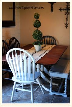 Cheap Kitchen Tables are the vision come true for the homeowners wilting in impact of jaw-dropping kitchen furniture costs. Small Dining, Small Space Living, Cheap Kitchen Tables, Duncan Phyfe Table, Refurbished Table, Drop Leaf Table, Home Decor Kitchen, Kitchen Furniture, Cheap Furniture