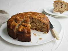 A delicious apple cake with a hint of honey that also happens to be dairy-free. A delicious apple cake with a hint of honey that also happens to be dairy-free. Healthy Apple Cake, Healthy Cake Recipes, Apple Cake Recipes, Healthy Baking, Baking Recipes, Dessert Recipes, Desserts, Apple Cakes, Cookie Recipes