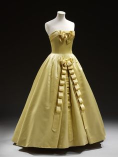 Pierre Balmain, Evening Dress, 1956, Victoria & Albert Museum, London