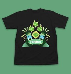 STEVEN UNIVERSE T-Shirt Peridot Steven Universe by InksterInc