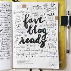 I am an avid blog reader, what are your favorite blogs?  #hobonichi #stationery…