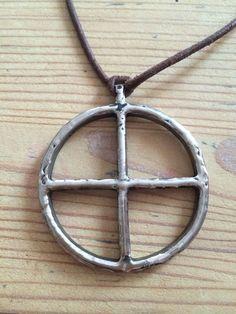 Sonnenrad Anhänger Thor Odin Götter Unikat Amulett Talisman