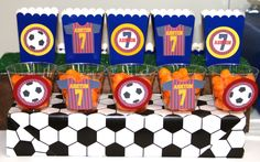 Ashton's 7th Birthday! Soccer Messi Barcelona