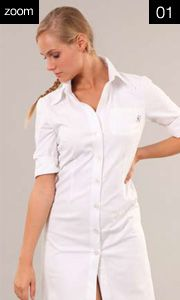 46214ARTICOLO Vestito Laura  M. ¾ Cot. 100%