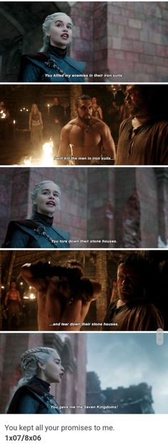 daenerys targaryen and khal drogo promises quotes collage [game of thrones] - Modern Got Game Of Thrones, Game Of Thrones Quotes, Game Of Thrones Funny, Khal Drogo, Daenerys Targaryen, Khaleesi, Daenerys Drogo, Winter Is Here, Winter Is Coming