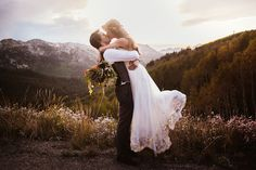 This wedding is honestly so perfect...  Utah Mountain Wedding