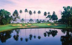 El golf es una actividad que los turistas pueden disfrutar. Puedes jugar este deporte mientras ves el bonito paisaje de Puerto Rico. Los mejores campos de golf en Puerto Rico se encuentran en Dorado y Aguadilla. Algunos campos de golf son baratos mientras que otros son lujosos.