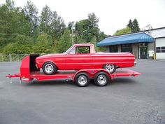 Roll Back Car Haulers - Open Car Trailers - Freeway Trailer Sales Tilt Trailer, Car Hauler Trailer, Camper Trailers, Campers, Trailer Sales, Trailers For Sale, Porsche Boxster, Small Cars, Rolls