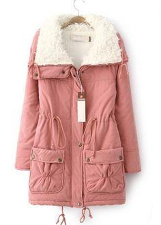 Enchanting Zipper Closure Coat//