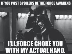 I'm just sayin! #DarthVader #StarWars #TheForceWillChokeYou