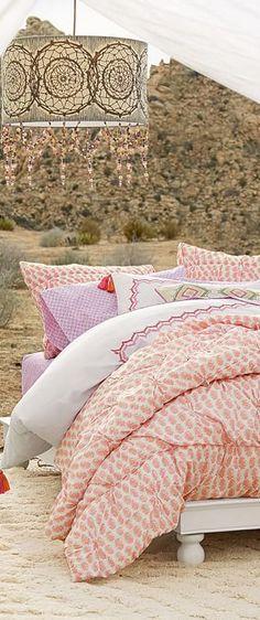 Paisley Pintuck Teen Girl Bedding