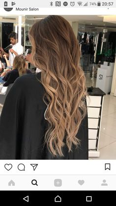 33 trendy ombre hair color ideas of 2019 - Hairstyles Trends Brown Hair Balayage, Brown Blonde Hair, Light Brown Hair, Hair Color Balayage, Light Hair, Brunette Hair, Hair Highlights, Dark Hair, Blonde Hair Looks