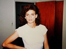 This is one of the last photos of Gia taken shortly before she died in 1986.