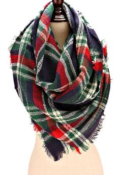 Plaid Blanket Scarf | Plaid blanket scarf, Plaid and Blanket