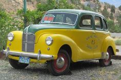 Another Shriner's Car: 1949 Austin A-40 - http://barnfinds.com/another-shriners-car-1949-austin-a-40/