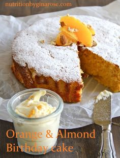 Healthy Orange and Almond Cake – Be Nourished Naturally