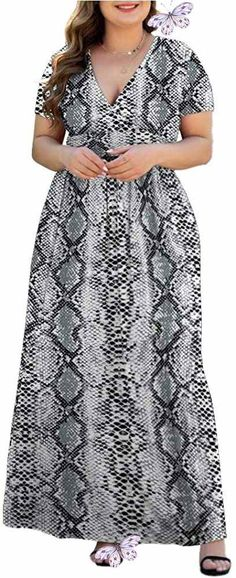 Women's L-5XL Short Sleeve V-Neck Plus Size Casual Maxi Dresses with Pockets Women's L-5XL Short Sleeve V-Neck Plus Size Casual Maxi Dresses with Pockets. Women's Plus Size Tops Striped Raglan Tee Shirts Casual Tunics Blouses New Curvy And Plus Size Women Outfit For Summer 2020. plus size clothing and all trending fashions for chubby and curvy girls. best outfits for plus size | plus sized fashion | style plus size | plus size outfits | womens fashion plus size | outfits plus size | fashion… Plus Size Casual, Plus Size Jeans, Plus Size Tops, Plus Size Outfits, Plus Size Women, Jean Outfits, Cool Outfits, Raglan Tee, Tunic Blouse