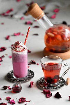 ビューティーフルーツティー♥ホット&フローズン♥| #cocktail #mocktail #party #drink Cocktail Recipes, Cocktails, Drinks, Panna Cotta, Ethnic Recipes, Blog, Beauty, Healthy Drinks, Recipe