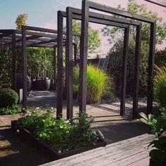 Back Gardens, Outdoor Gardens, Garden Structures, Outdoor Structures, Beautiful Images, Beautiful Homes, Victoria Terrace, Deck Fireplace, Arbors Trellis