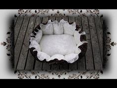 DIY ♔ Kuschelnest das Bett für Katzen & Hunde selber nähen - YouTube