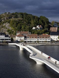 The bridge by Buen cultural centre, Mandal, 2014 - 3XN Architects