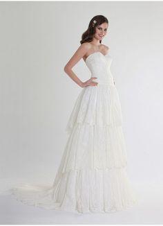 Wedding dress by Pepe Botella 2015