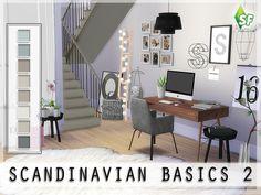 SimFabulous' Scandinavian Basics Wall II