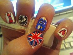 cute dr who nails